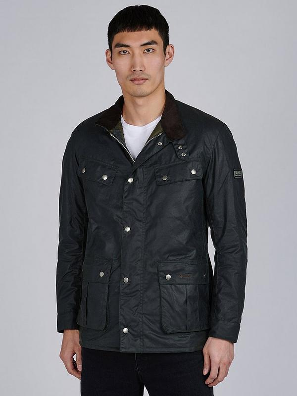hot sales many choices of outlet sale Duke Wax Jacket - Sage