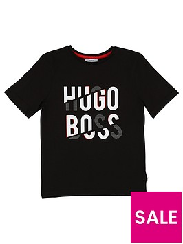 boss-boys-short-sleeve-print-logo-t-shirt-black