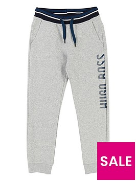 boss-boys-side-logo-tracksuit-jogging-bottoms-light-grey-marl