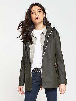 hunter-original-lightweight-rubberised-festival-jacket-dark-olive