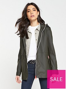hunter-original-lightweight-rubberised-jacket-dark-olive