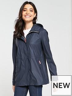 hunter-original-lightweight-rubberised-festival-jacket-navy