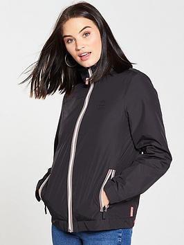 Hunter Lightweight Insulated Shell Jacket - Black