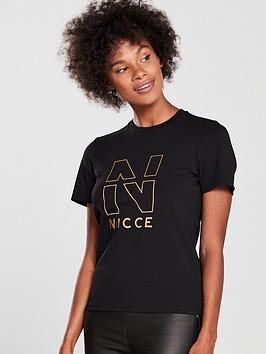 Nicce Trophy T-Shirt - Black