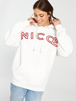 Nicce Pitch Hoodie - Off White