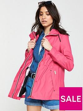 hunter-lightweight-rubberised-jacket-bright-pink
