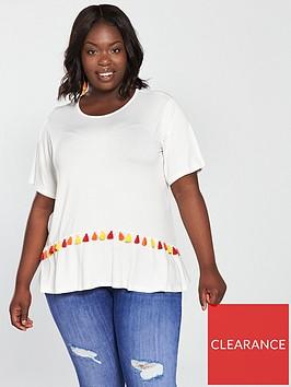 v-by-very-curve-pom-pom-trim-t-shirt