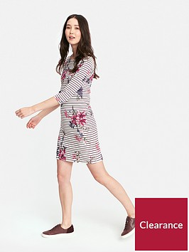 joules-riviera-print-boarder-dress--nbspharvest-floral-plum-stripe