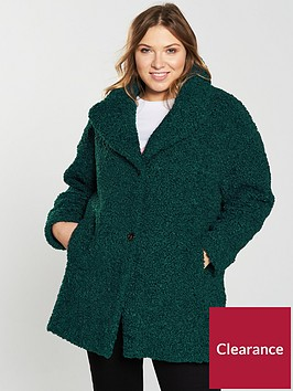 v-by-very-curve-teddy-faux-fur-coat-emerald