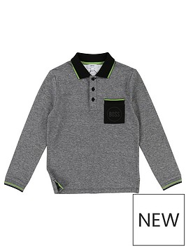 boss-boys-long-sleeve-pocket-polo-shirt