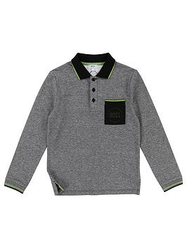 boss-boys-long-sleeve-pocket-polo-shirtnbsp