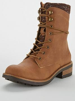 Rocket Dog Rocket Dog Tayte Lace Up Utilitarian Boot With Insert
