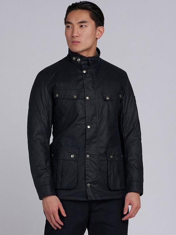 100% satisfaction official supplier most reliable Duke Wax Jacket - Navy