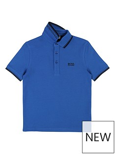 boss-boys-short-sleeve-pique-polo-shirt