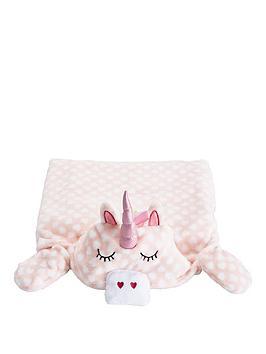 unicorn-hooded-blanket-with-sleeves