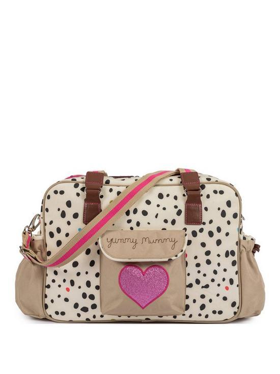 dd36c5dda0589 Pink Lining Pink Lining Yummy Mummy Changing Bag- Dalmatian Fever ...