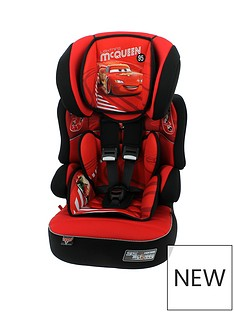 Disney Cars Disney Cars Beline SP Group 123 High Back Booster Seat