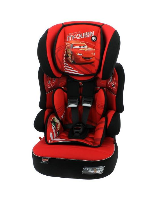 Disney Cars Beline SP Group 123 High Back Booster Seat