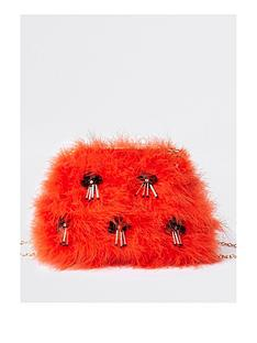 river-island-fluffy-bag-red