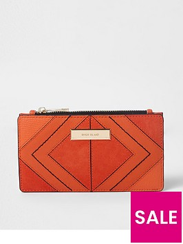 river-island-slim-foldout-purse-orange