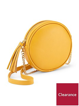 miss-selfridge-circle-cross-body-ochrenbsp