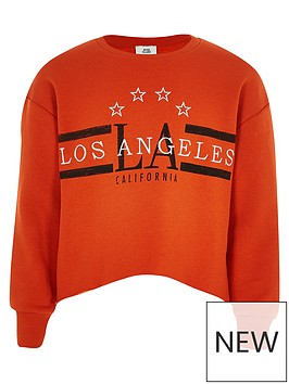 river-island-girls-orange-039los-angeles039-crop-sweatshirt