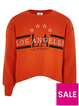 river-island-girls-orange-039los-angeles039-crop-sweatshirt