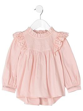 river-island-mini-girls-pink-frill-broiderie-swing-top