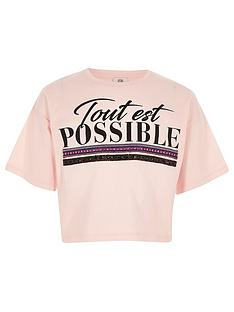 river-island-girls-light-pink-039tout-est-possible039-t-shirt