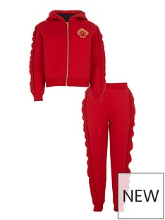 river-island-girls-red-diamante-frill-hoodie-outfit