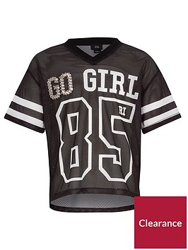 river-island-girls-black-lsquogo-girlrsquo-mesh-t-shirt