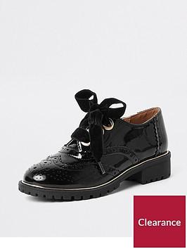 river-island-girls-black-patent-eyelet-brogue-shoes