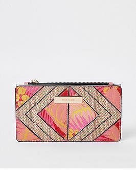 river-island-river-island-slim-foldout-purse-red-print