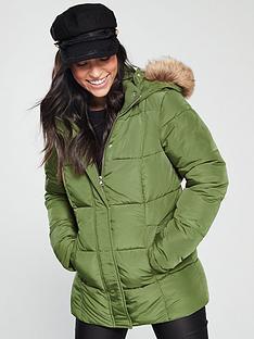v-by-very-short-faux-fur-trim-paddednbspcoat-khaki