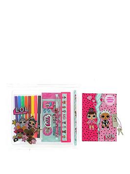 lol-surprise-lol-lockable-notebook-and-deluxe-stationery-set