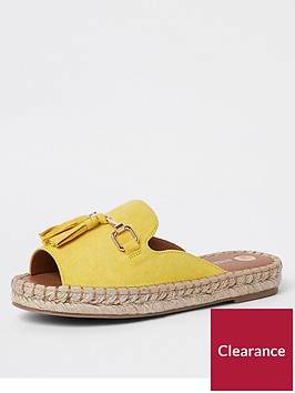 river-island-river-island-espadrille-mule-sandal-yellow