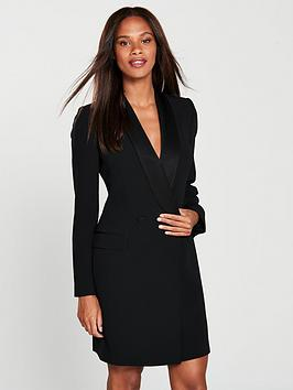 karen-millen-karen-millen-sleek-tux-double-breasted-dress