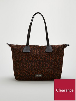karen-millen-karen-millen-animal-print-canvas-tote-bag