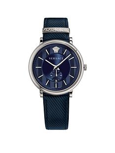 versace-v-circle-manifesto-edition-blue-and-silver-dial-blue-leather-strap-mens-watch