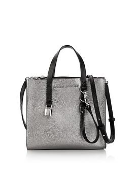 marc-jacobs-mini-grind-cross-body-tote-bag--nbspsilver