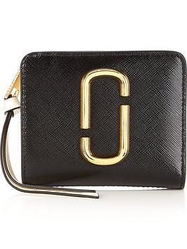 marc-jacobs-mini-compact-snapshot-wallet--nbspblack