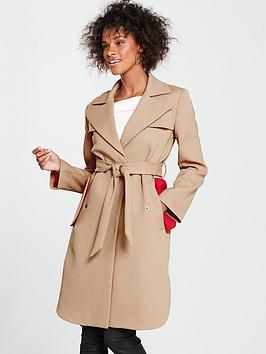 armani-exchange-trench-coat