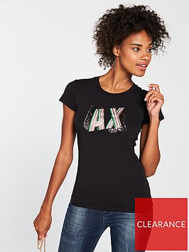 armani-exchange-logo-t-shirt-black