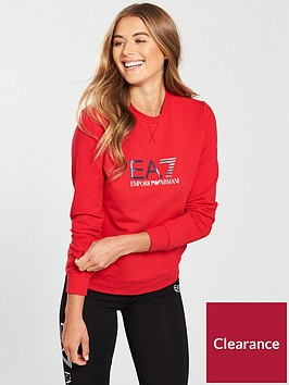 emporio-armani-ea7-train-logo-crew-neck-sweat-red