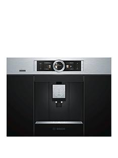 Bosch Serie 8 CTL636ES6 Built-In Coffee Machine - Stainless Steel