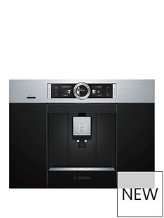 Bosch Serie 8 CTL636ES6 Built-In Coffee Machine - Stainless Steel