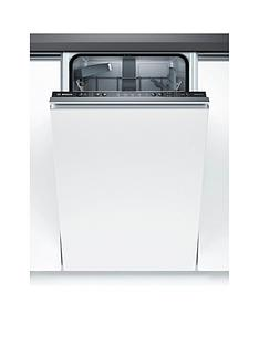Bosch Serie 2 SPV25CX00G 9-Place Setting Integrated Slimline Dishwasher with EcoSilence Drive™