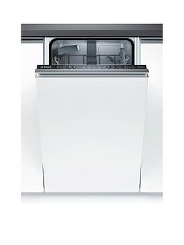 Bosch Serie 2 Spv25Cx00G 9-Place Setting Integrated Slimline Dishwasher With Ecosilence Drive&Trade; Best Price, Cheapest Prices