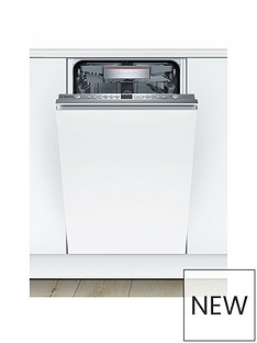 Bosch Serie 6 SPV66TX00G 10-Place Setting Integrated Slimline Dishwasher - White Best Price, Cheapest Prices