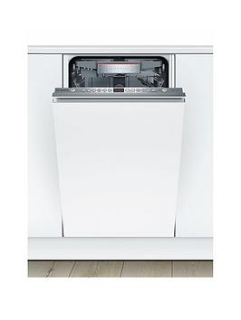 Bosch Serie 6 Spv66Tx00G 10-Place Setting Integrated Slimline Dishwasher - White